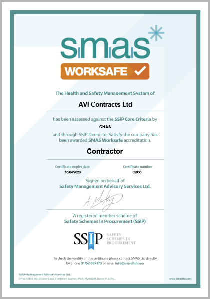 SMAS | Avi Contracts Ltd